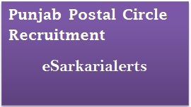 Punjab Postal Circle Recruitment