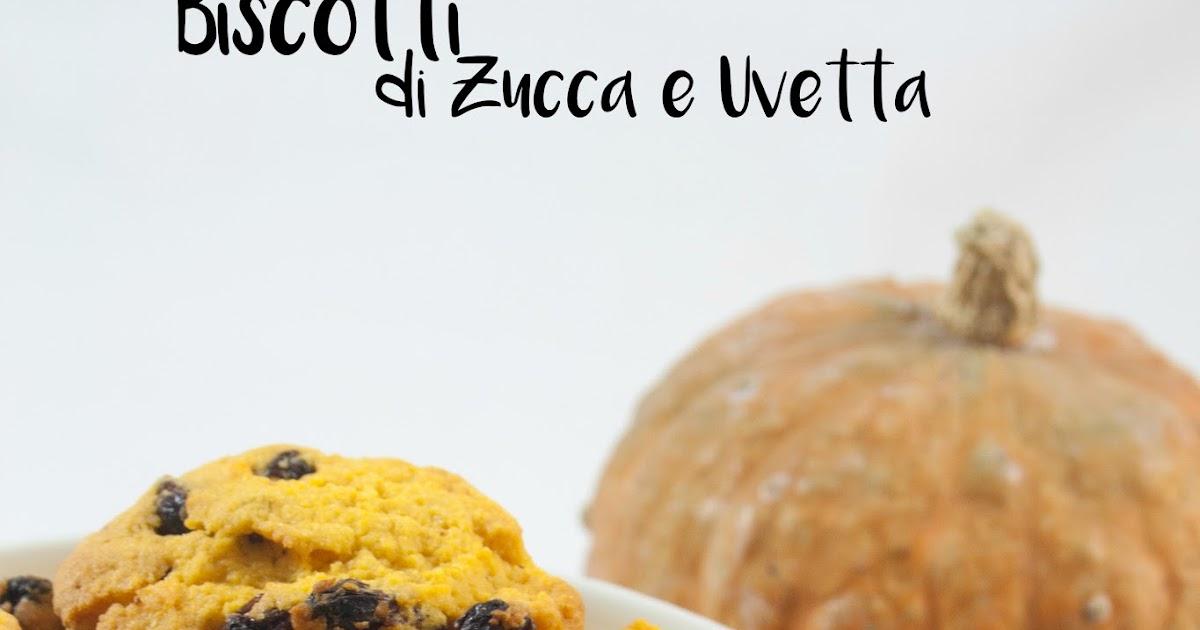 Biscotti di zucca e uvetta / Pumpkin and raisins cookies recipe