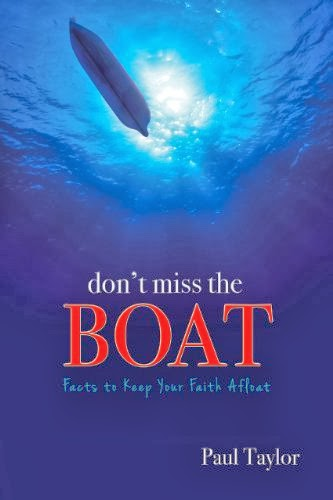 """Don't Miss the Boat"" by Paul Taylor discusses Noah's ark, the Genesis Flood and the Bible. He shows the theology and science, giving the honest inquirer some hard facts to consider."