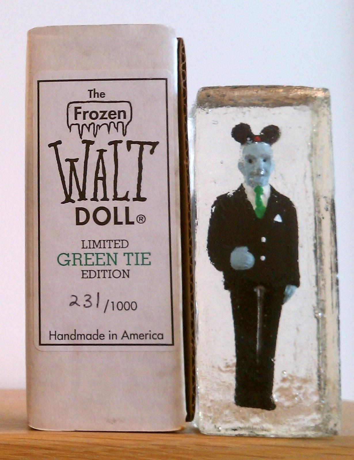 Mike Lynch Cartoons Sherm Cohen Battle Of The Frozen Walt Dolls