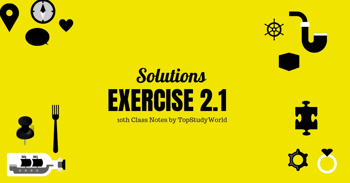 Exercise 2 1 Class 10 Maths Solution Notes (With Free PDF)   Top