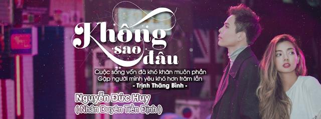 [PSD Ảnh Bìa] Không Sao Đâu - Trịnh Thăng Bình