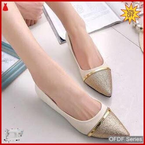 OFDF326 Sepatu Flat Cantik Pinny Cute Modis BMGShop