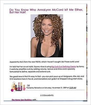 anna lyn mccord of 90210