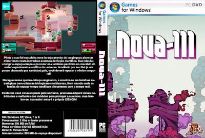 Jogo Nova-111 PC DVD Capa
