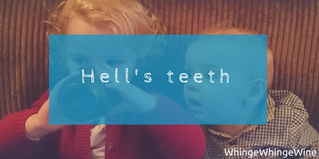 Hell's teeth: Babies and toddlers teething is no fun.