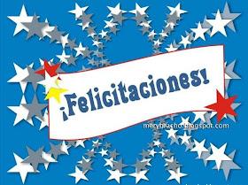 Postal Felicitaciones Te Deseo Los Mejores Exitos Entre Poemas