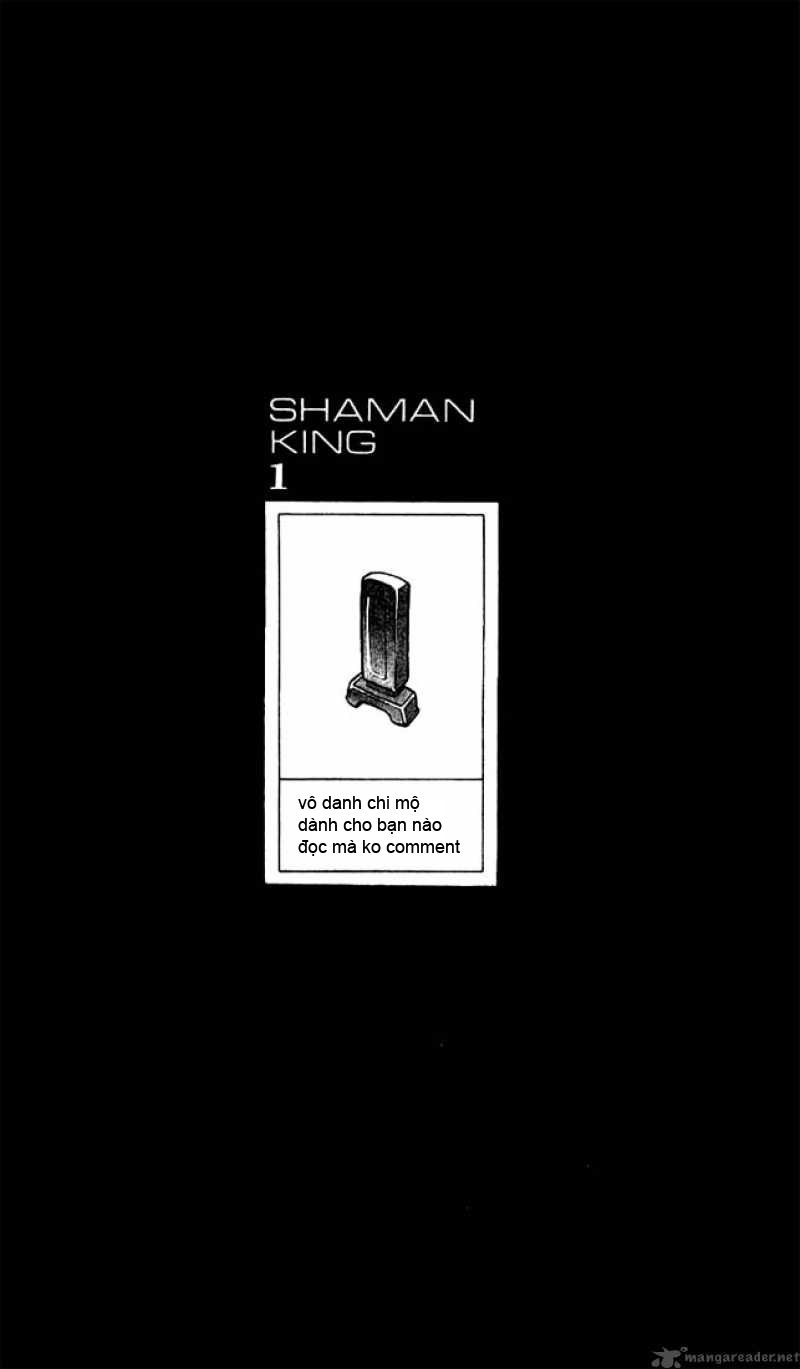 Shaman King [Vua pháp thuật] chap 7 trang 1