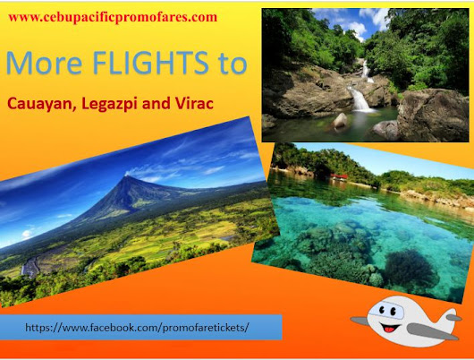 More Capacity Flights to Cauayan, Legazpi, Virac!