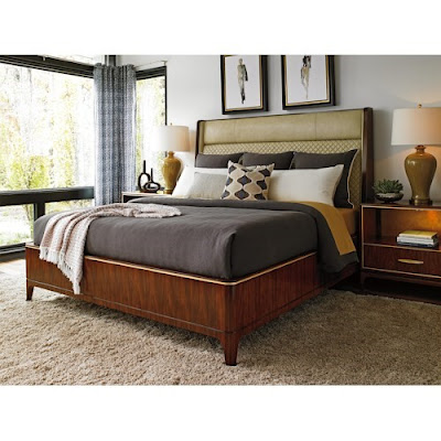 lexington king bedroom set at baer's furniture