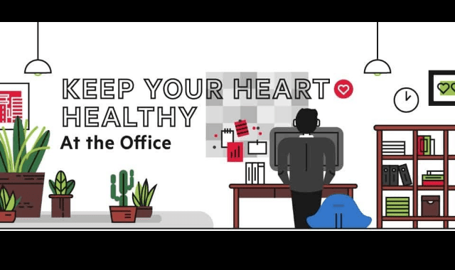 Keep Your Heart Healthy at the Office