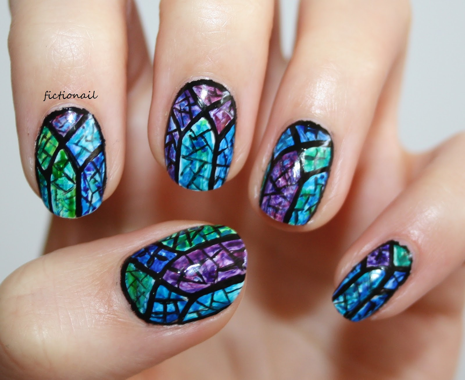 Stained Glass Windows Nails