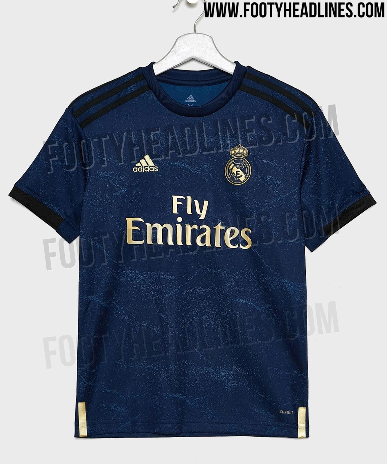 huge selection of 9a5ab b3364 Real Madrid 19-20 Home, Away & Third Kits Leaked - Release ...