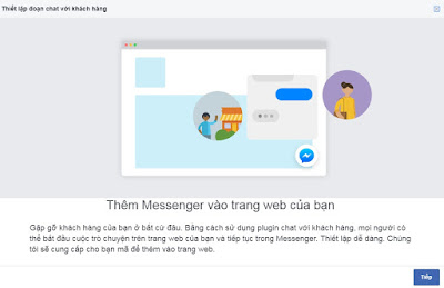 Setup Customer Chat Facebook