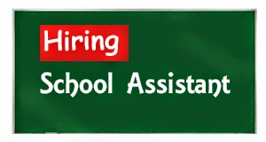 School Assistant PSC HUNT
