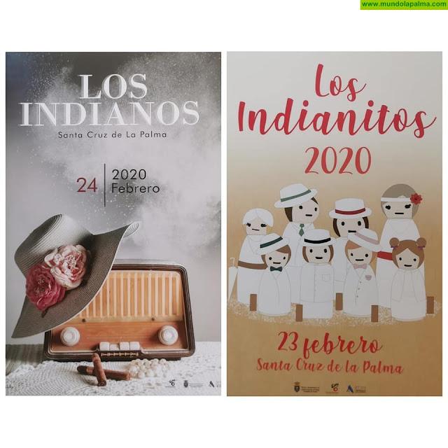 El Ayuntamiento de Santa Cruz de La Palma presenta oficialmente los carteles de los Indianos y los Indianitos