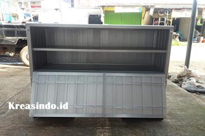 Jasa Gerobak Alumunium Motor di Bekasi untuk jualan Roti