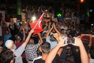الانقلاب في تركيا