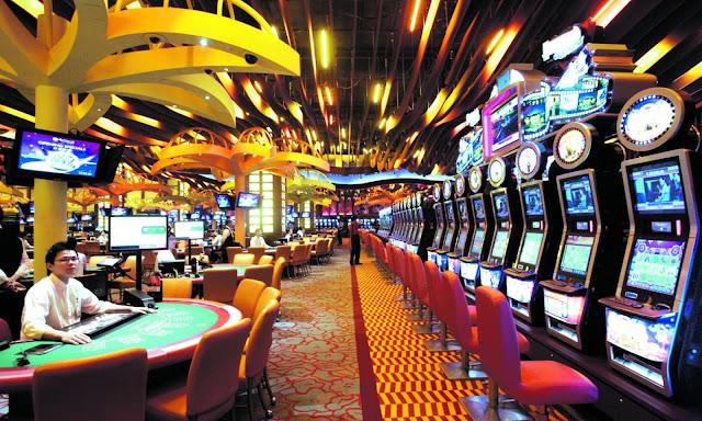 A Casino at Bankok, Thailand