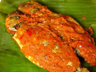 Masakan ikan nila bumbu rujak