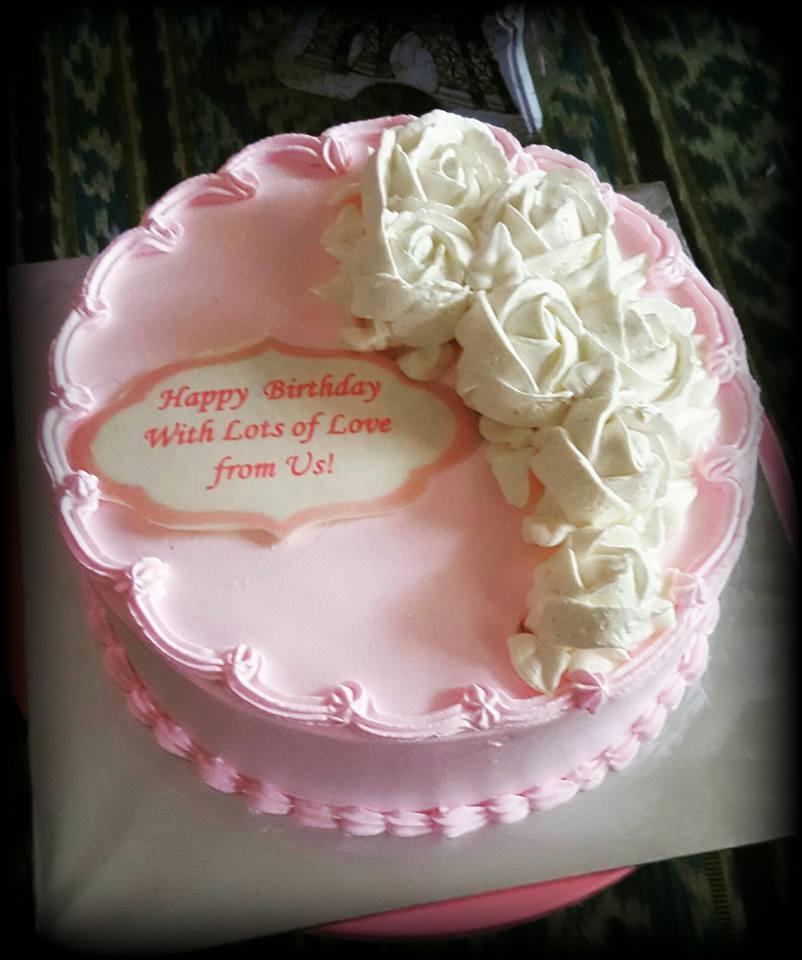 Izah's Kitchen: Birthday Cake For A Mom, Halal Birthday