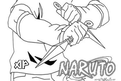 Mewarnai Gambar Naruto Dan Sasuke