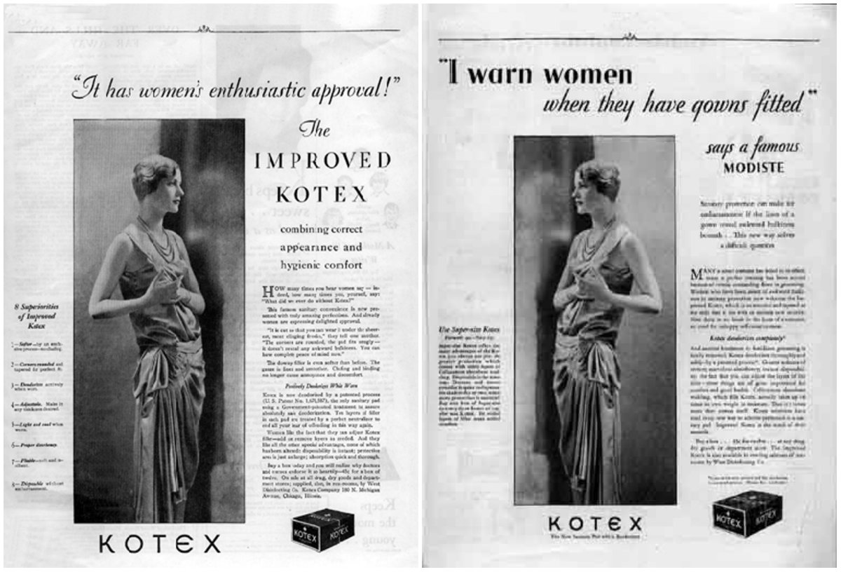 The First Real Woman in a Menstrual Hygiene Ad (Kotex): Lee Miller