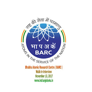 Bhabha Atomic Research Centre Recruitment