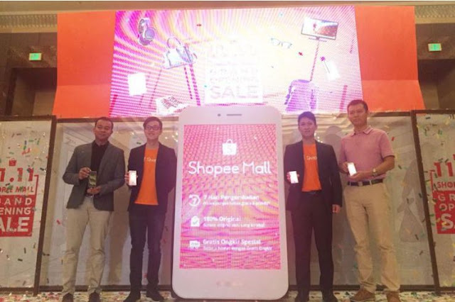 Shopee Luncurkan Shopee Mall Indonesia