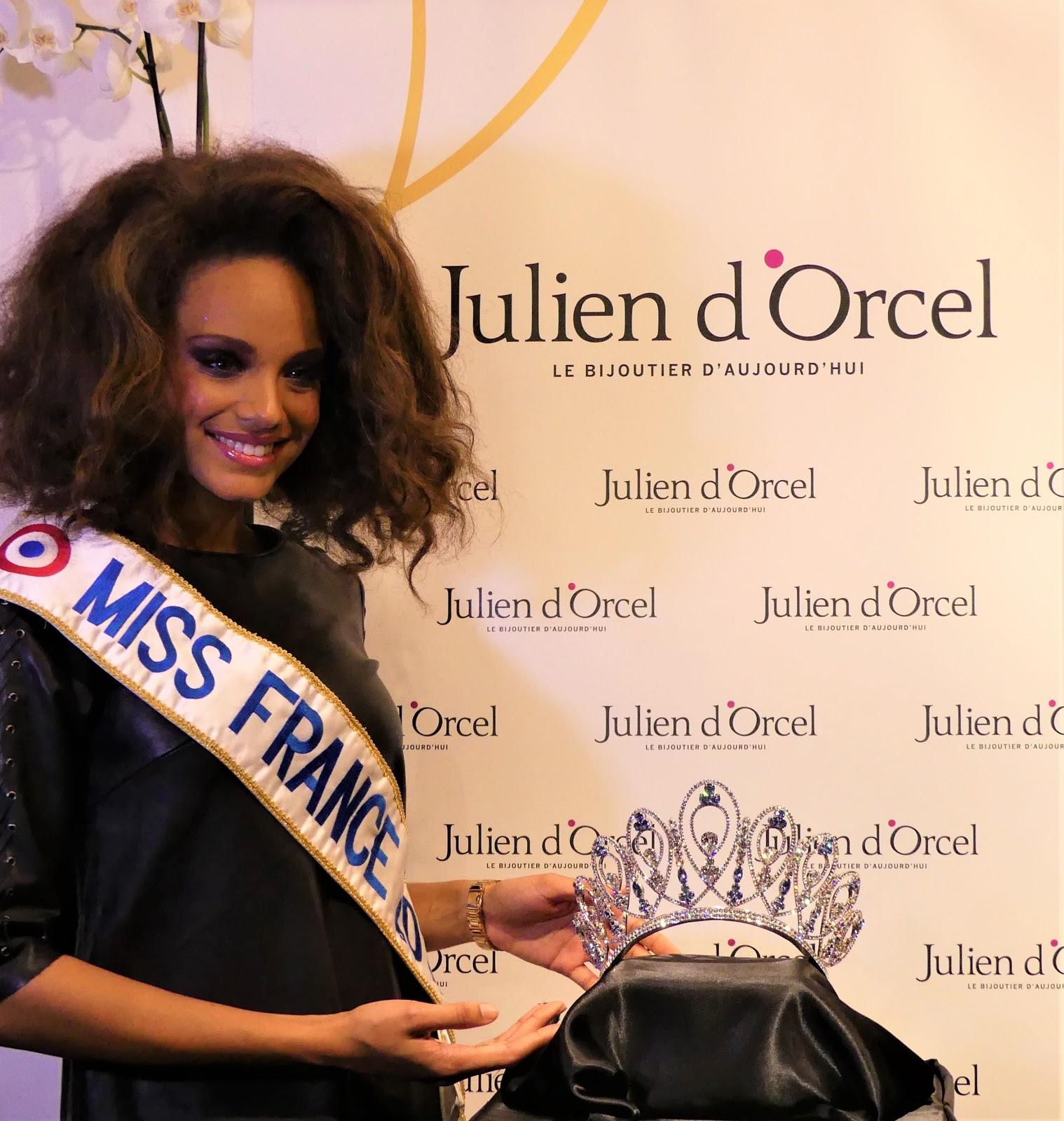 08597ba976134 Exclusif découverte de la couronne Miss France 2018 par Julien d ...