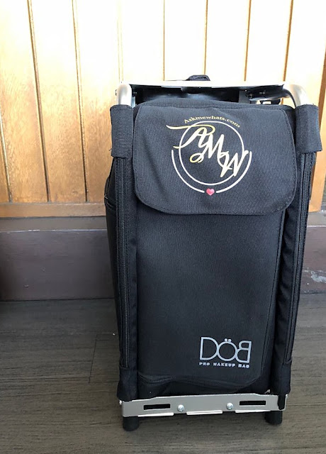 a photo of DOB PRO Makeup Bag Review