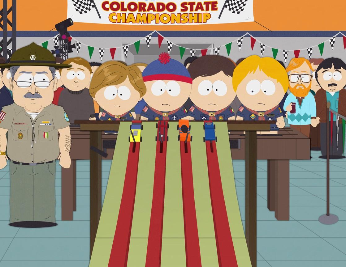 South Park - Season 13 Episode 06: Pinewood Derby