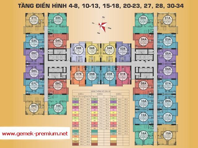 Mặt sàn thiết kế Gemek Premium