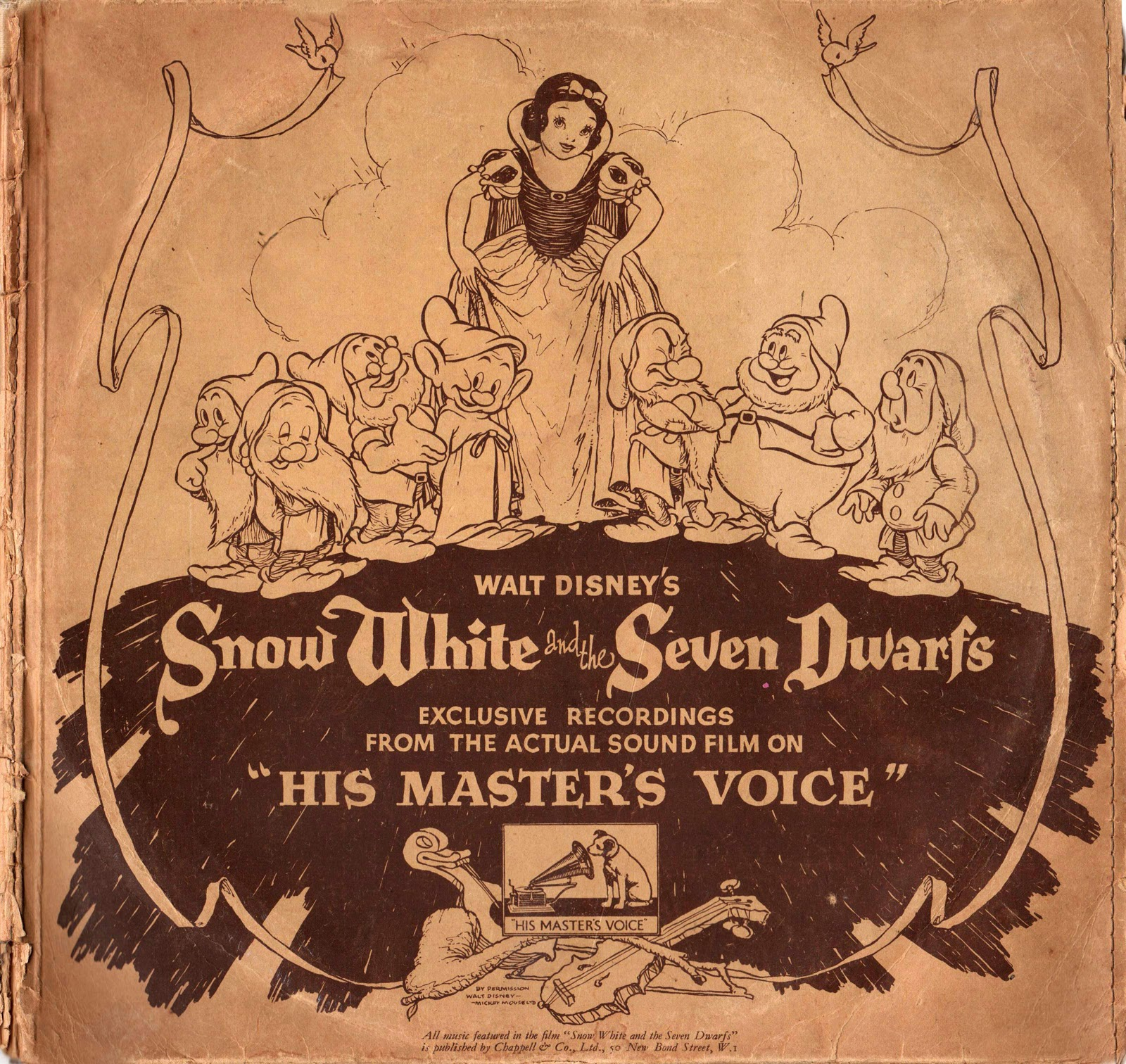 Filmic Light - Snow White Archive: 1938 British 'Snow ...