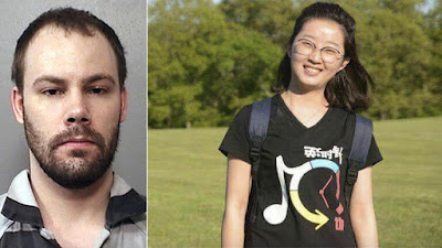 Brendt Christensen, left, is charged in the kidnapping of visiting University of Illinois Chinese scholar Yingying Zhang.