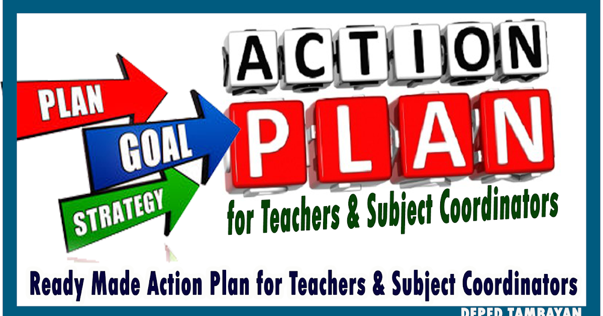 Ready Made Action Plan for Teachers and Subject Coordinators ...