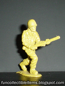 Rifle Assault plastic toy soldier