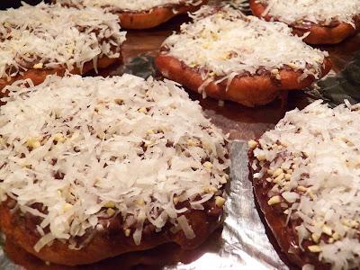 Almond Joy Fried Dough