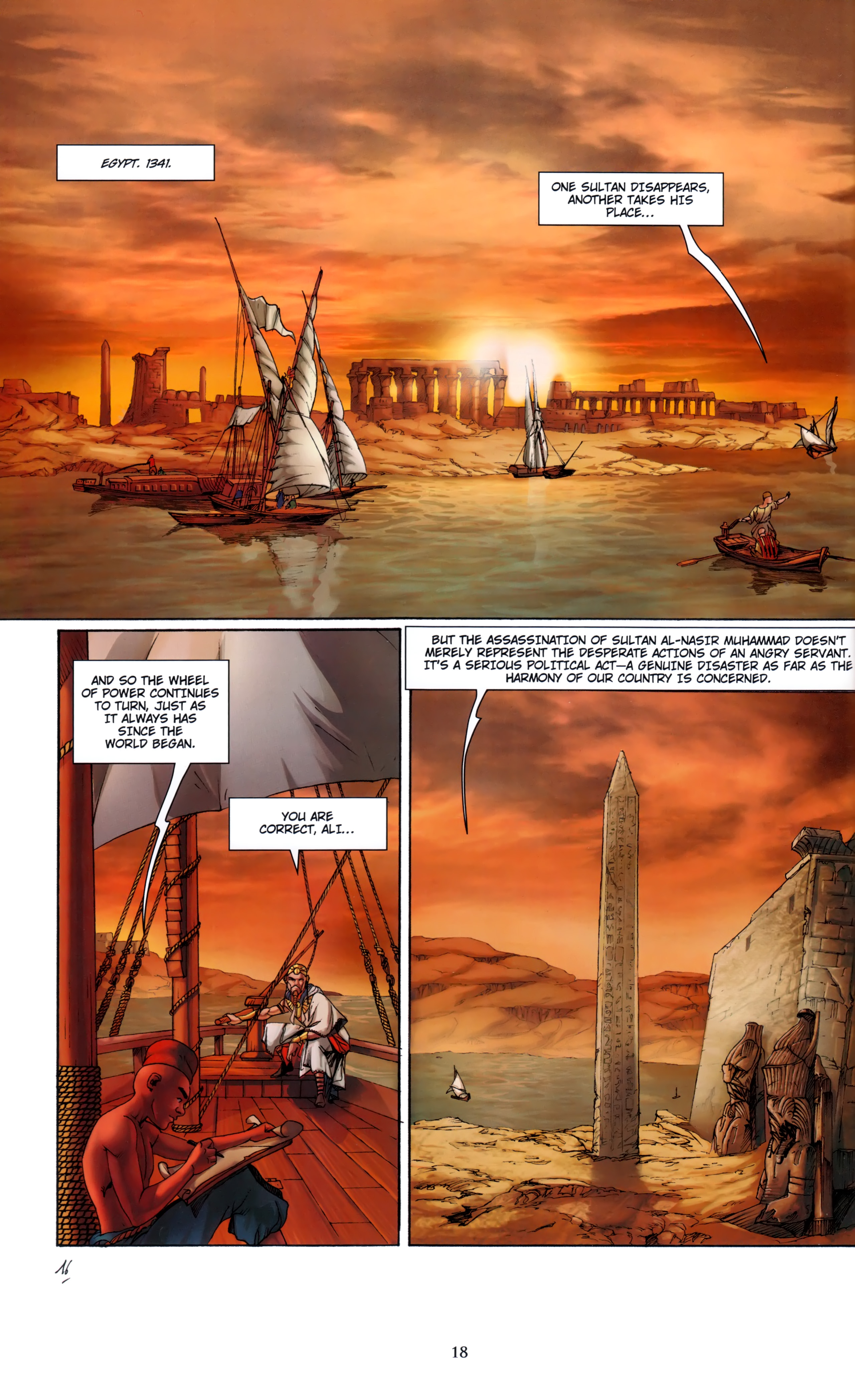 Read online Assassin's Creed (2012) comic -  Issue #5 - 18