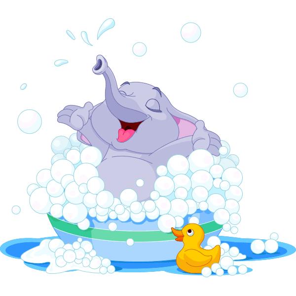 Bubble Bath Elephant