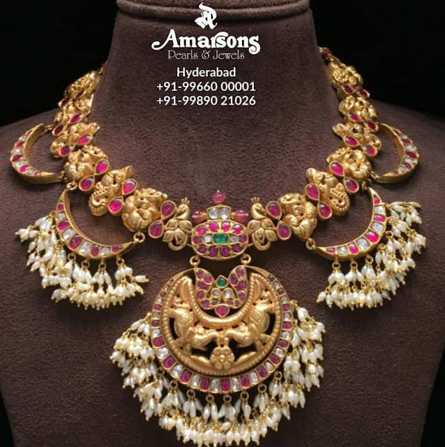 Temple Kundan Sets by Amarsons