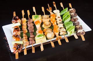 Izakaya grill sticks