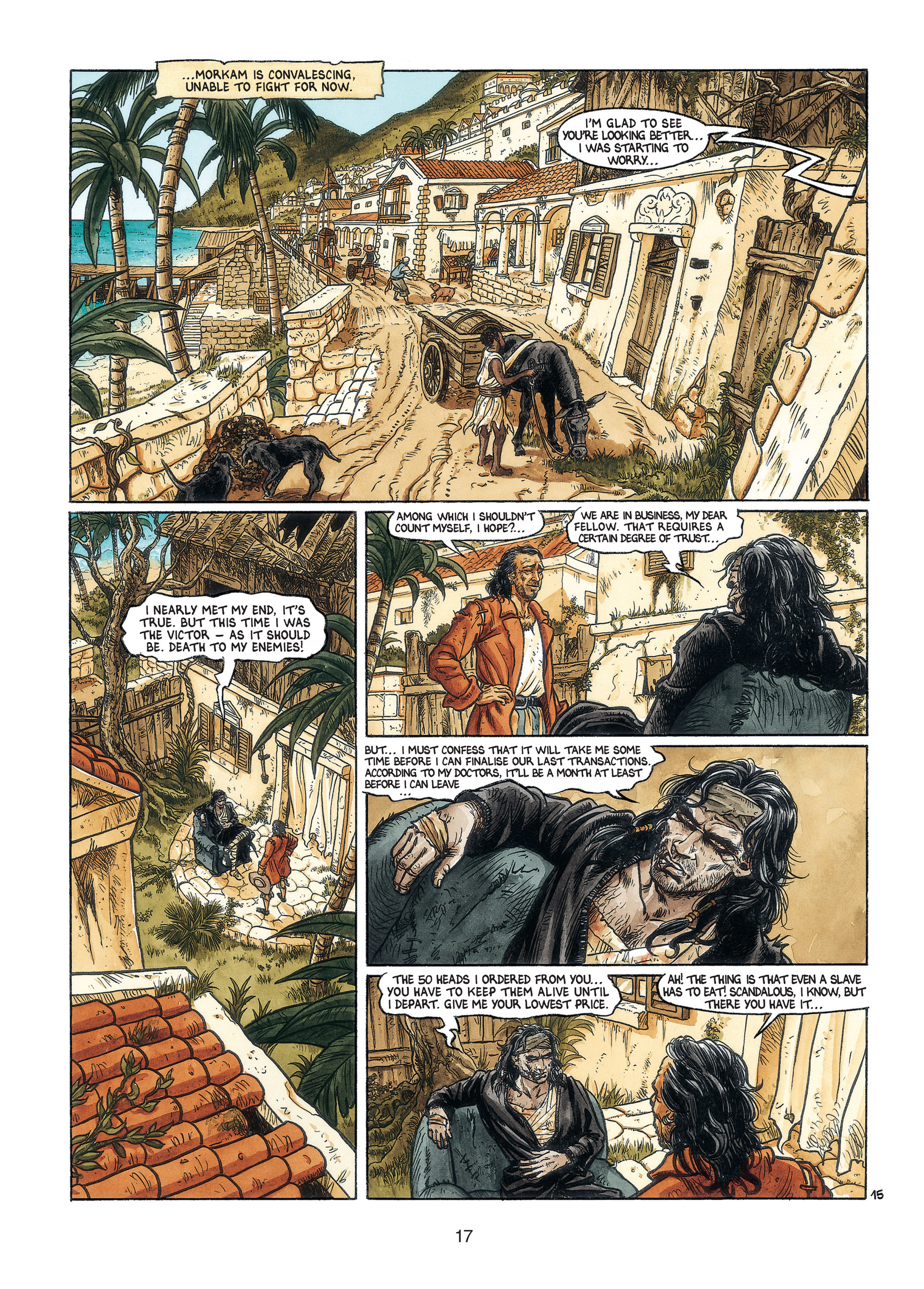 Read online Barracuda comic -  Issue #3 - 18