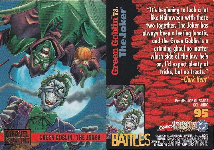 Halloween Joker Card.Moongem Comics Countdown To Halloween 2017 Day 15 Green Goblin Vs