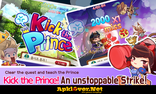 Kick the Prince: Princess Rush APK MOD Unlimited Money