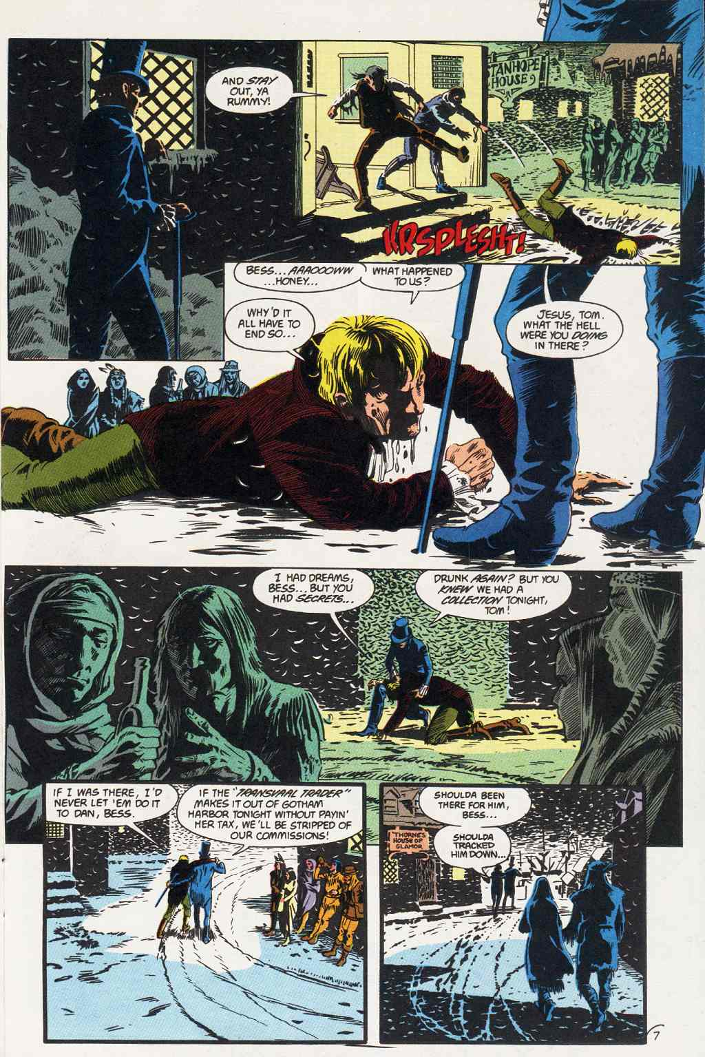 Swamp Thing (1982) Issue #86 #94 - English 7