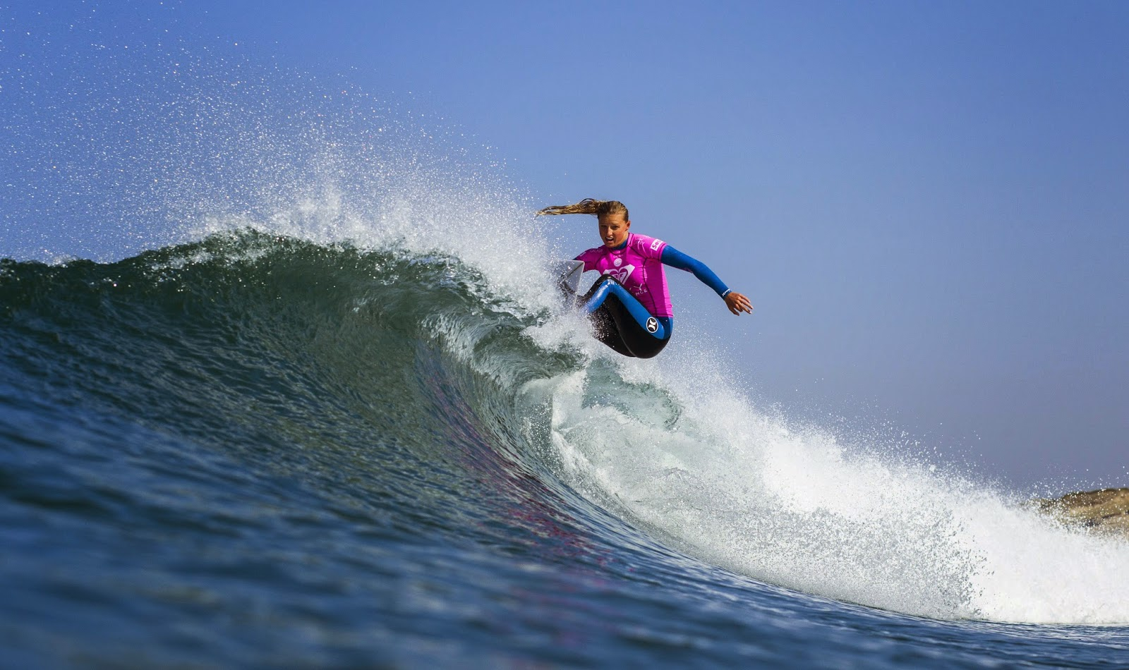 Roxy Pro France 2014 Lakey Peterson USA Foto ASP