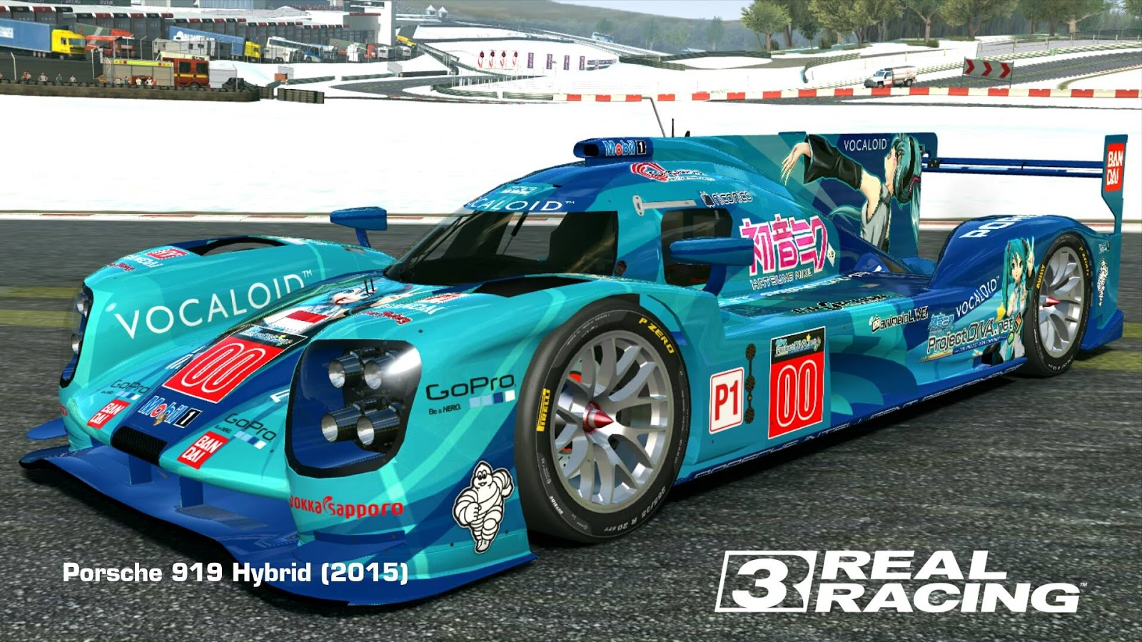 2015 porsche 919 hybrid project diva hatsune miku 00 vocaloid series by tanto arc