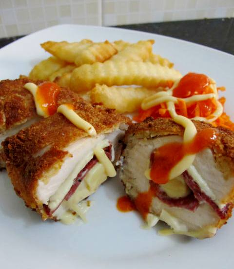 Resep Chicken Cordon Bleu JTT