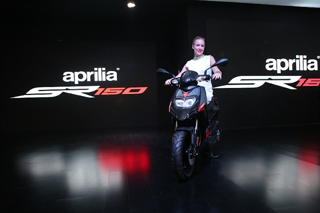 Piaggio India Aprilia SR 150 Auto Expo New Delhi